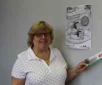 Mme Gochel, gagnante du CAWAE