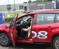 Benoit Zinzen gagnant chez Peugeot Schyns