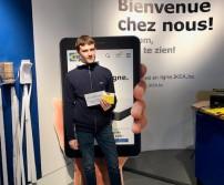 Monsieur Jurkiewiecz, gagnant du lot d'Ikea