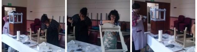 Un atelier patine pour rendre vie aux vieux meubles et objets