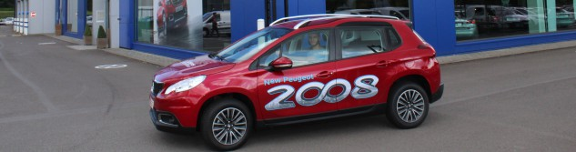 Awans Crazy Summer : Laurent Thirion au volant de la Peugeot 2008