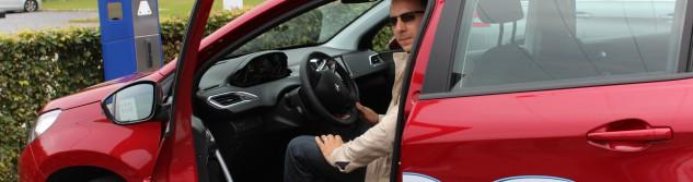 Awans Crazy Summer : Benoit Zinzen au volant de la Peugeot 2008