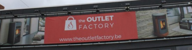 Nouvel arrivant à Awans: The Outlet Factory spécalisé dans la vente de poêles à pellets