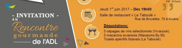 5e rencontre Gourmande à la découverte des vins et macarons