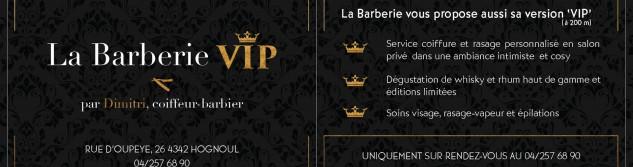 Nouveauté à Hognoul: découvrez le concept de La Barberie VIP