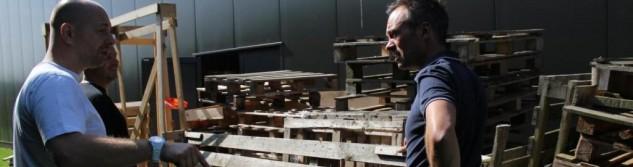 Succès de la première récolte de palettes en bois valorisable dans les entreprises awansoises