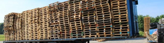 Vous voulez vous débarrasser de vos palettes en bois usagées? Nous avons la solution.