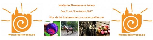 Découvrez en exclusivité la couverture de la carte programme de Wallonie Bienvenue