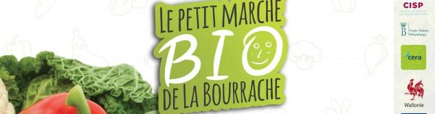 Le Petit marché Bio de la Bourrache,n c'est tous les vendredis à Hognoul