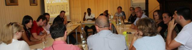 Succès de la première réunion du comité de pilotage d'Awans Commune de Commerce Equitable