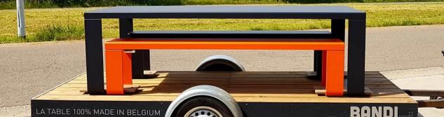 RTC consacre un reportage à Bandi, producteur awansois de mobilier design en aluminium