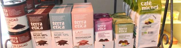 Nouveau: Trouvez désormais des produits équitables en vente à la Boucherie Vanderbyse.