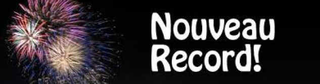 Record pour notre Newsletter
