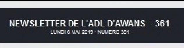 La Newsletter de l'ADL est de plus en plus consultée