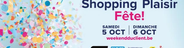 Avis aux commerçants: Participez gratuitement au week-end du client 2019
