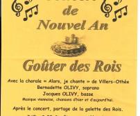 Concert de Nouvel An - Goûter des Rois