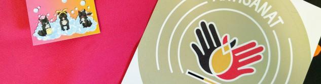 Label Artisan Certifié pour l'enseigne Cani'Djooli