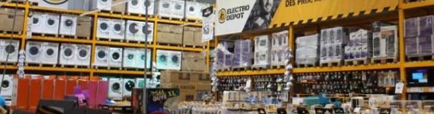 Electro Dépôt, des prix bas et un large choix