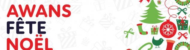 Retrouvez les photos des gagnants d'Awans Fête Noël