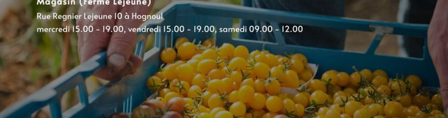 On parle de la Ferme Lejeune sur le site internet de Vivacité