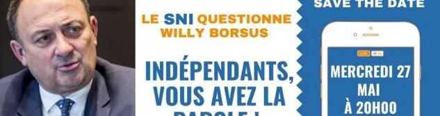 Le SNI donne la parole aux indépendants face au ministre Borsus