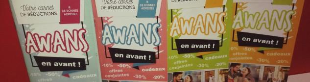 Envie de faire la promotion de votre activité dans le prochain chéquier Awans en Avant ?