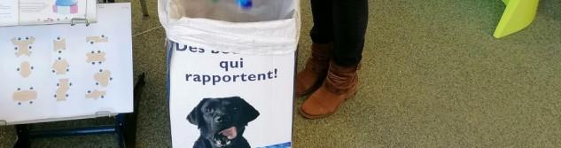 Vos bouchons pour aider à la formation des chiens d'assistance