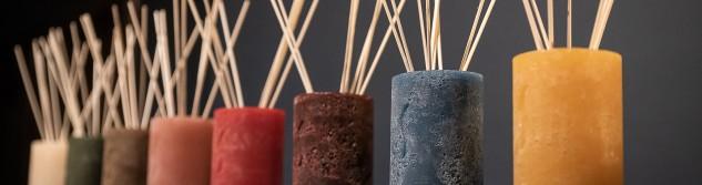 Nouveau à Awans : Un créateur de bougies, photophores et diffuseur de parfum