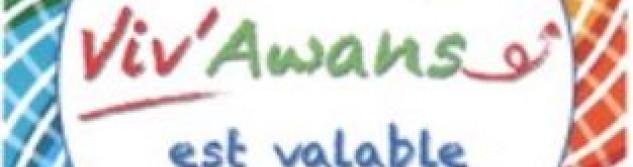 Chèques Viv'Awans: C'est parti