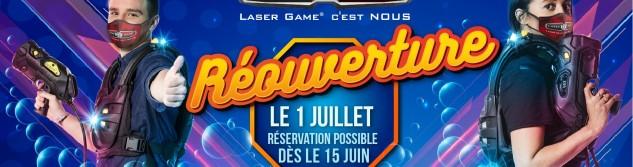Le Laser Game Evolution d'Awans réouvre ses portes